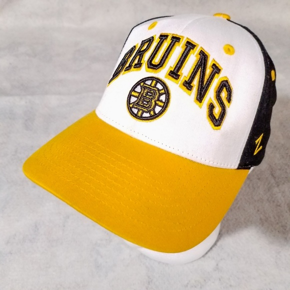 ed200694fd0 Boston Bruins Zephyr Sports Team Ball Cap Hat. M 5c4d92fbd6dc5292a34e5f59